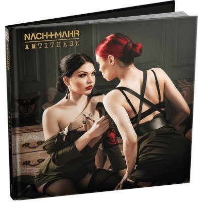 Limited 2CD Book Edition NACHTMAHR Antithese