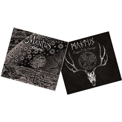 2CD Mantus Katharsis & Pagan Folk Songs