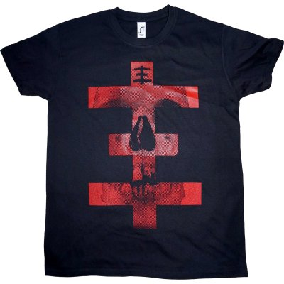 T-Shirt Psychic TV Skull Cross