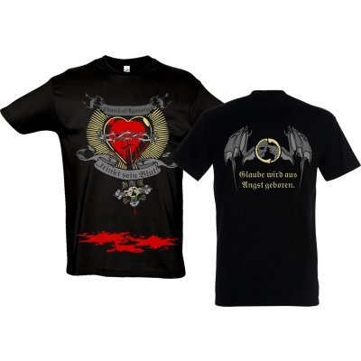 T-Shirt AGONOIZE Flaming Heart