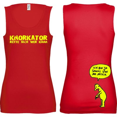 Girly-Tanktop Knorkator Am Arsch