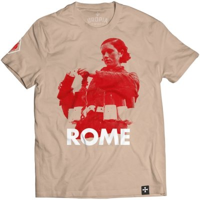 T-Shirt ROME Swords To Rust, Hearts To Dust