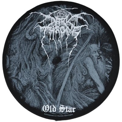 Backpatch DARKTHRONE Old Star