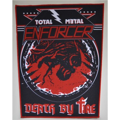 Backpatch ENFORCER Total Metal-Death By Fire