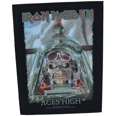 Backpatch IRON MAIDEN Aces High
