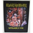 Backpatch IRON MAIDEN Somewhere In Time