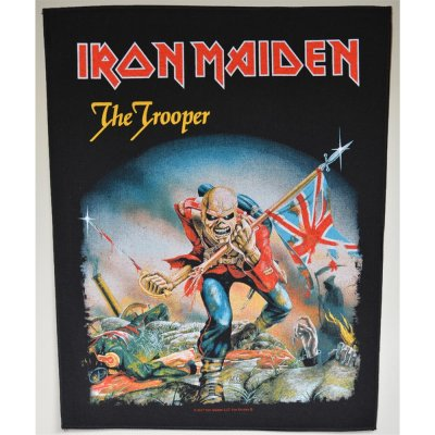 Backpatch IRON MAIDEN The Trooper