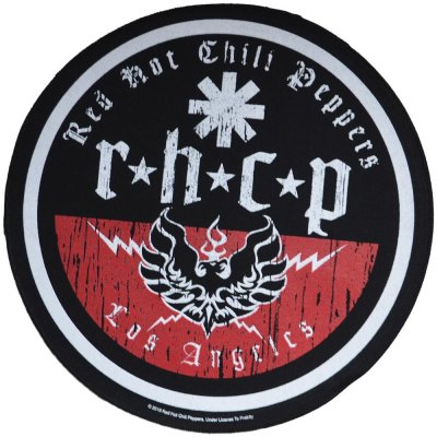 Backpatch RED HOT CHILI PEPPERS L.A. Biker