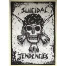 Backpatch SUICIDAL TENDENCIES RxCx Skull