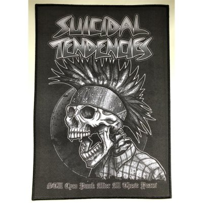 Backpatch SUICIDAL TENDENCIES Still Cyco Punk After All These Years