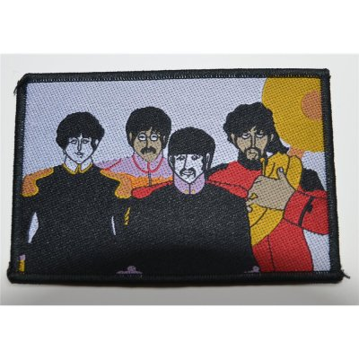 Aufnäher THE BEATLES Yellow Submarine Band