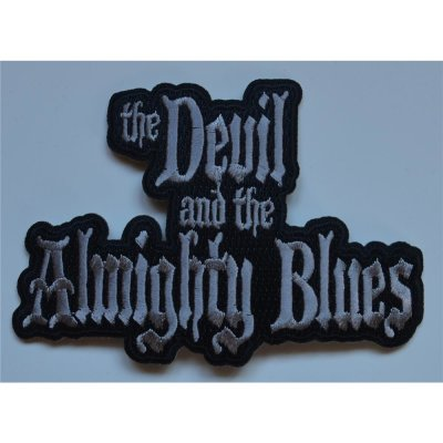 Aufnäher THE DEVIL AND THE ALMIGHTY BLUES Embroidered Logo