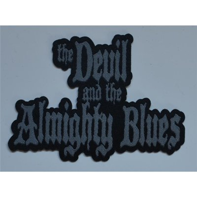 Aufnäher THE DEVIL AND THE ALMIGHTY BLUES Woven Logo