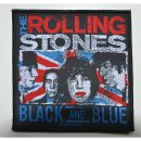 Aufnäher THE ROLLING STONES Black And Blue
