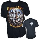 T-Shirt CRYSTAL VIPER Queen Of The Witches Vintage