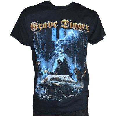 T-Shirt GRAVE DIGGER Healed By Metal