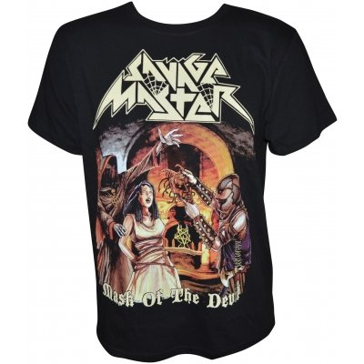 T-Shirt SAVAGE MASTER Mask Of The Devil