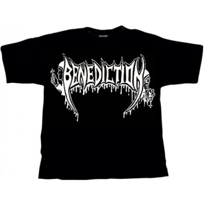 T-Shirt BENEDICTION Old School Logo