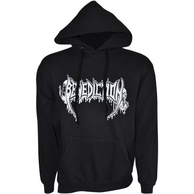Hooded Sweatshirt BENEDICTION Old School Logo