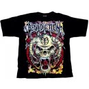T-Shirt BENEDICTION Skull