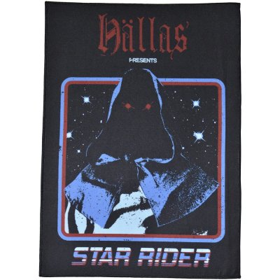 Backpatch HÄLLAS Star Rider