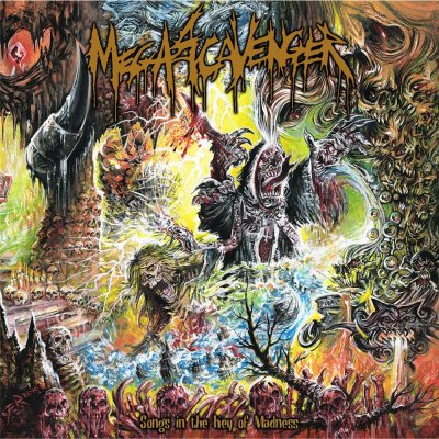 CD Megascavenger Songs In The Key Of Madness