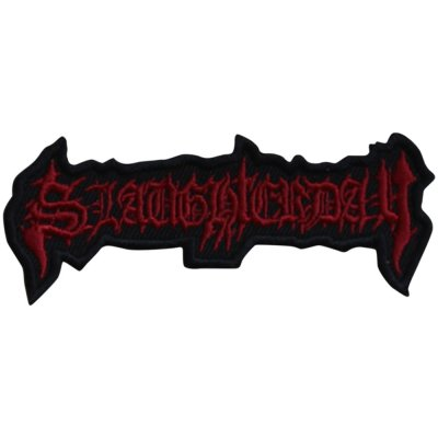 Aufnäher Slaughterday Logo Cut Out