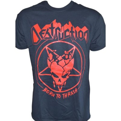 T-Shirt Destruction Born To Thrash - Gildan
