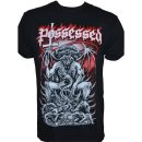 T-Shirt Possessed  Pentagram Throne - Gildan