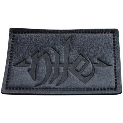 Aufnäher Nile  Logo Leather-Patch