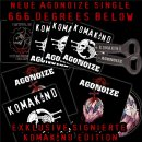 Fanset Single CD AGONOIZE 666 Degrees Below - Komakind...
