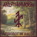 7 red Vinyl Of The Wand & The Moon Abendrot Im Walde