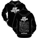 Hoodie Stay together Stay together black&white
