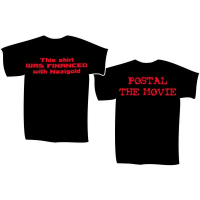 T-Shirt POSTAL - THE MOVIE Nazigold