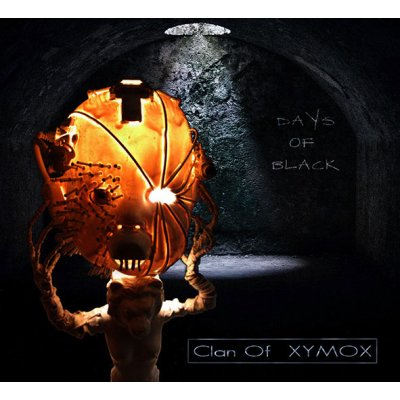 digiPakCD CLAN OF XYMOX Days Of Black
