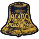 Aufnäher AC/DC Hells Bells Cut Out
